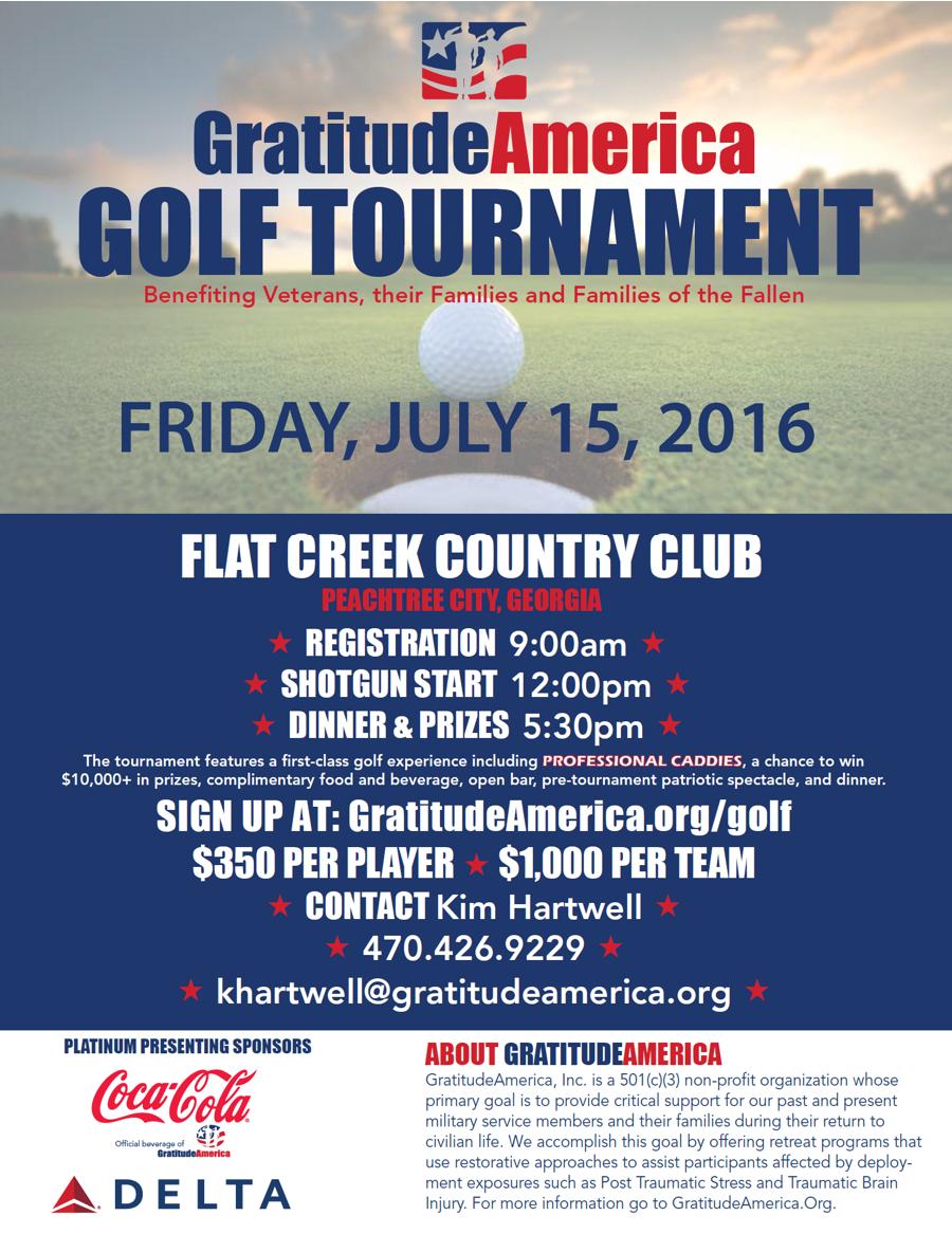 Military Appreciation Golf Tournament